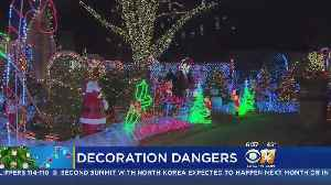 News video: Look Over Christmas Lights Before Placing On Homes & Trees