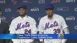 New York Mets Acquire Robinson Cano, Edwin Diaz [Video]