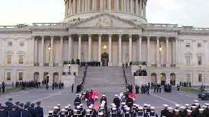 News video: Remembering President George H.W. Bush At His Memorial