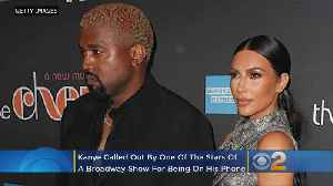 Cast Member Calls Out Kanye West For Using Cell Phone During Opening Night Of 'The Cher Show' [Video]