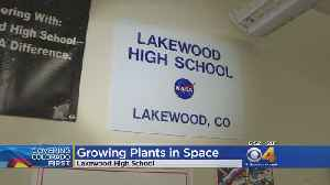 Lakewood High Students Experiment To Blast Off [Video]