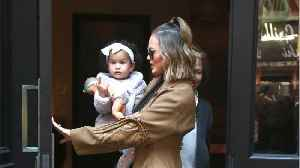 Chrissy Teigen Starts Trend Involving Photos of Babies with Head-Shaping Helmets [Video]