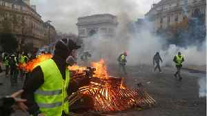 French Student Unrest Gathers Momentum [Video]