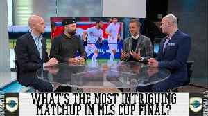 Most Intriguing Matchup In MLS Cup Final [Video]