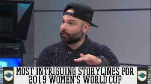 Most Intriguing Storylines for 2019 Women's World Cup [Video]
