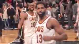 Tristan Thompson Shoves Middle Finger At Fan Who Heckled Him About Lebron & Khloe [Video]