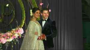 Priyanka Chopra, Nick Jonas celebrate wedding in New Delhi [Video]