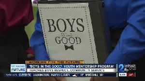Boys in the Good teaches kids at Randallstown ES about respect, kindness and giving back [Video]