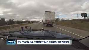 Michigan State Police to conduct commercial vehicle enforcement on I-94 [Video]