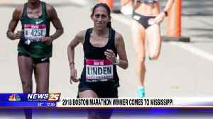 2018 Boston Marathon winner comes to Mississippi [Video]