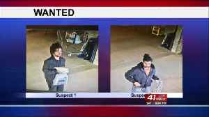 Two men wanted in card theft, fraud investigation [Video]