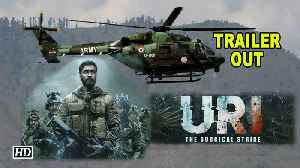 'URI: The Surgical Strike' TRAILER OUT | Vicky Kaushal give you goosebumps [Video]