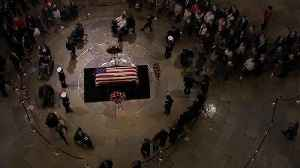 Ceremony on Capitol steps to take place before George H.W. Bush's state funeral [Video]