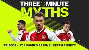 Does Aaron Ramsey DESERVE a new contract? | Three Minute Myths [Video]