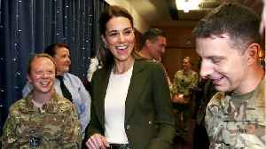Kate Middleton Rocks A Blazer [Video]