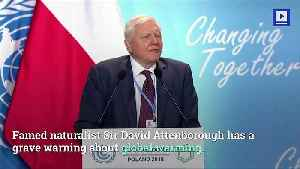 Climate Change Is 'Our Biggest Threat,' Says Sir David Attenborough [Video]