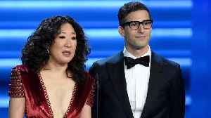 Sandra Oh And Andy Samberg To Host Golden Globes [Video]