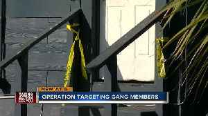 18 gang members arrested on drug,firearm charges [Video]