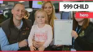 Brave four-year-old makes calm 999 call after mum has four fits in one day [Video]