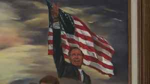 Local artist received Bush '41 thank you note [Video]