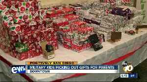 USO San Diego opens Santa store for military families [Video]