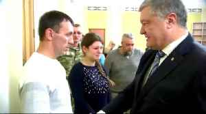 Ukraine president vows to bring home sailors captured by Russia [Video]
