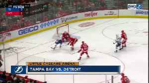 Tampa Bay Lightning beat Detroit Red Wings 6-5 in shootout [Video]