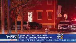 Police Investigating Shooting In City's Manchester Section [Video]