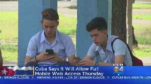 Cuba To Offer Internet Access On Mobile Phones [Video]