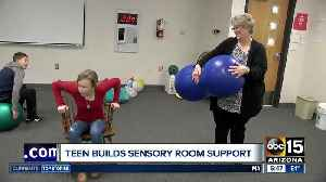 West Valley student reaches out to help special-needs classmates [Video]
