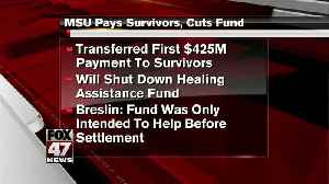 MSU pays survivors, cuts therapy payments [Video]