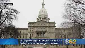 Michigan Republicans Vote To Delay Minimum Wage Increase, Change Paid Sick Time Laws [Video]