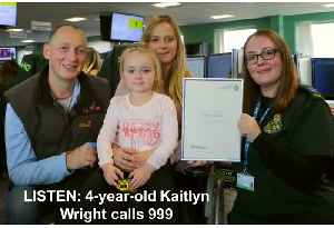 Four-year-old makes calm 999 call after mum fits [Video]