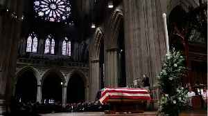 News video: Former President George H.W. Bush Honored At State Funeral