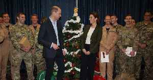 Kate Middleton and Prince William Celebrate Military Families with Sweet Palace Christmas Party [Video]