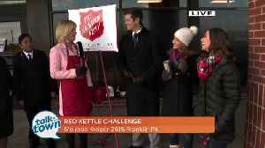 NewsChannel5 and Salvation Army's Red Kettle Challenge [Video]