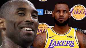 Lebron James Reacts to Kobe Bryant Saying He's Doing