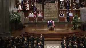 Raw Video: President George W. Bush Delivers Eulogy At Father's Funeral [Video]