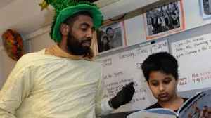 News video: Kyrie Irving Roasted by Kid During Boston Hospital Visit