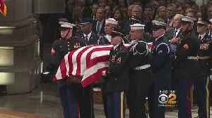 Funeral Services Held For Former President George H.W. Bush [Video]