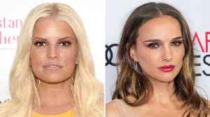 Jessica Simpson Responds to Natalie Portman's Comments About Her Teen Bikini Shoot | THR News [Video]