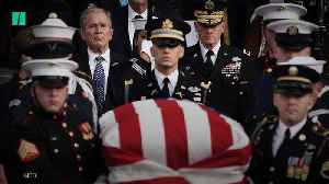 Former President George H.W. Bush's Funeral [Video]
