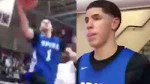 Lamelo Ball Demolishes LeBron James' St. Vincent-St Mary High School [Video]