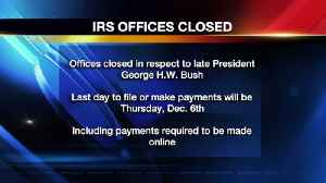 IRS Grants 1-Day Extension due to Office Closures for National Day of Mourning [Video]