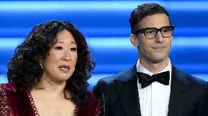 Sandra Oh And Andy Samberg To Co-Host Golden Globes [Video]