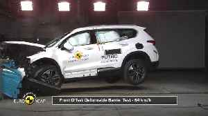 Hyundai Santa Fe - Crash Tests 2018 [Video]