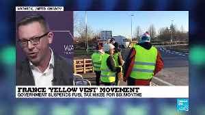 News video: Yellow vests in France - University of Warwick's Oliver Davis explains the movement