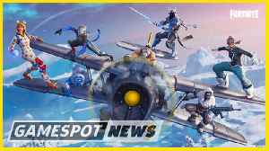 Fortnite Season 7 Iceberg, Airplane, And Wraps Are Here [Video]