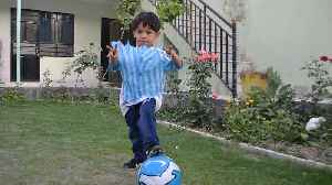 Family's fears for 'little Messi', 7, after Taliban death threat [Video]