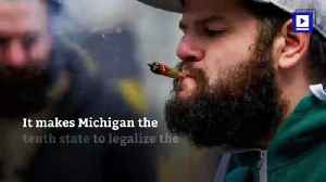 Michigan Is the First Midwest State to Legalize Recreational Marijuana [Video]